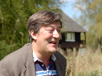 Stephen Fry at the Great Fen