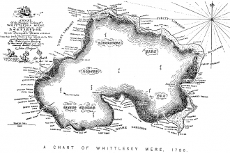 Whittlesea Mere Map