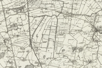 Old map of the fens