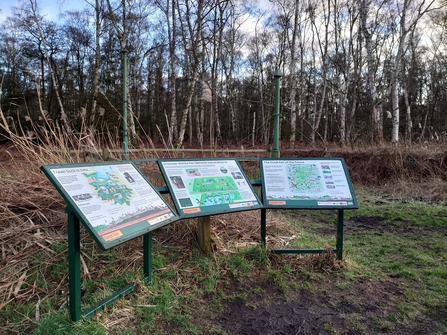 Holme Fen Information Boards