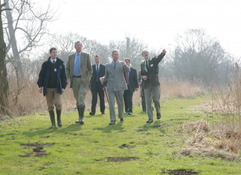 HRH Prince Charles Fen Project